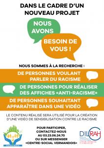 Read more about the article Appel à figurants